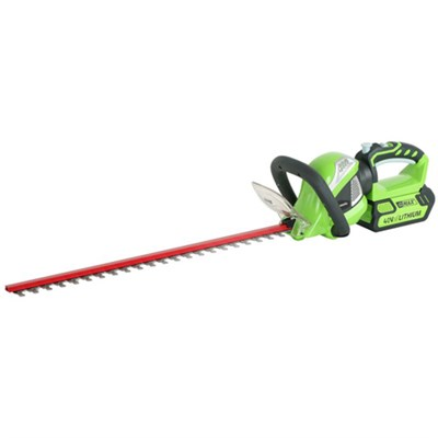 G-MAX 40V 24-inch Cordless Rotating Hedge Trimmer (22262) - OPEN BOX