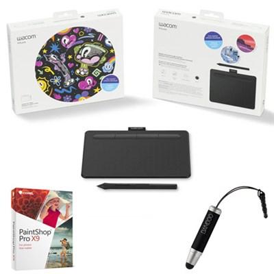 Intuos Creative Pen Small Black Tablet w/ Corel Paint Shop Pro Bundle