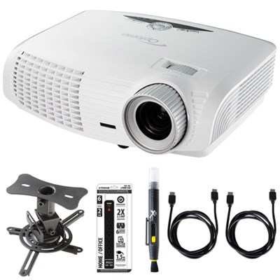 HD (1080p), 3500 ANSI Lumens, 3D-Home Theater Projector  w/ Ceiling Mount Kit