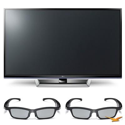 42PM4700 42` 720p 3D Slim Bezel Plasma Smart HD TV and 3D Glasses Bundle