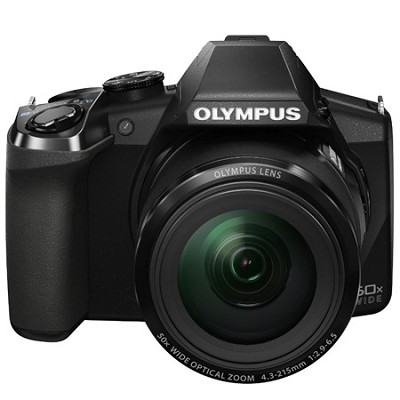Stylus SP-100 16MP Digital Camera - Black