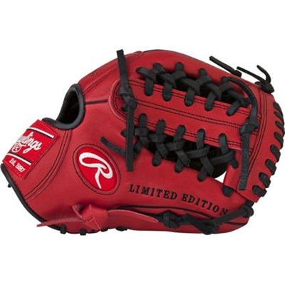 Gamer XLE 2016 Limited Edition Baseball Glove - Red/Black, Right Hand Throw