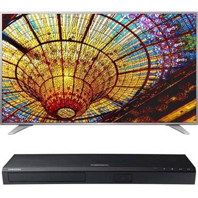 75-Inch 4K UHD Smart TV - 75UH6550 + Samsung UBDM8500 4K UHD Blu-Ray Player