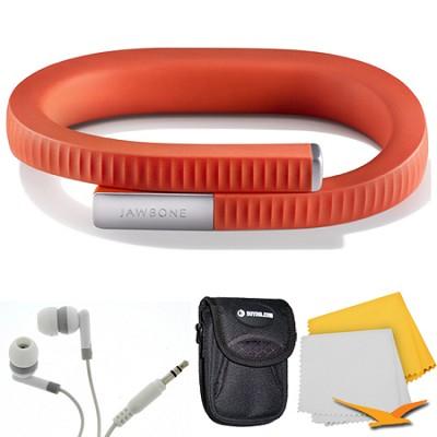 UP 24 Bluetooth Enabled Medium - Retail Packaging - Persimmon Red Bundle