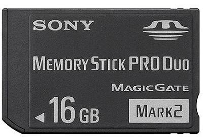 16GB  Memory Stick PRO Duo Media {MS-MT16G}