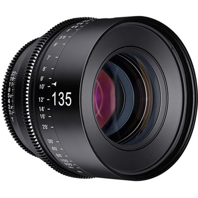 Xeen 135mm T2.2 Lens with Canon EF Mount - XN135-C
