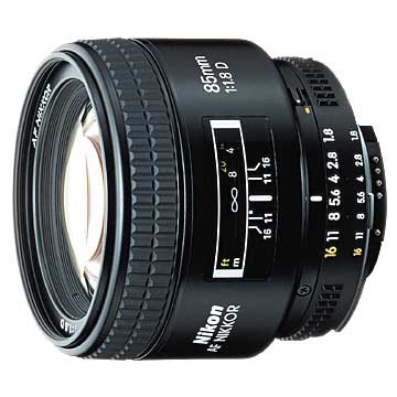 85mm F/1.8D AF Nikkor Lens - REFURBISHED