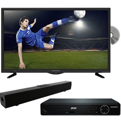 PLDV321300 32` LED TV-DVD Combo + HDMI DVD Player + Bluetooth Sound Bar