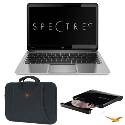 ENVY 13.3` 13-2050nr Spectre XT Ultrabook, Carrying Case, and DVD Writer Bundle