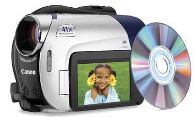 DC-310 DVD Camcorder with 41x Advanced Zoom