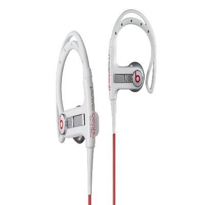 MHBTSIELJWHCT PowerBeats Sport Headphones w/ In-Ear Sport Hook white 129502
