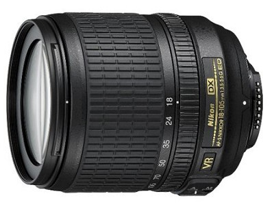 18-105mm f/3.5-5.6G ED AF-S VR DX Zoom-Nikkor Lens (Import)