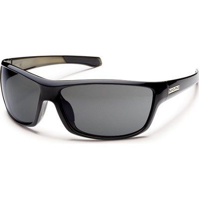 Conductor Sunglasses Black Backpaint Frame/Gray Polarized Lens