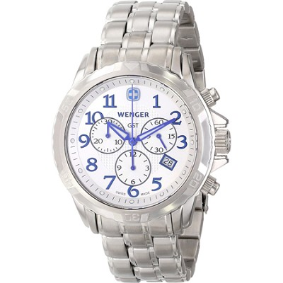 Men's GST Chrono Watch - Silver Dial/Stainless Steel Bracelet