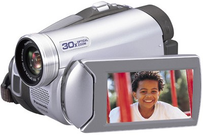 PV-GS39 Digital Palmcorder With 30x Optical Zoom / 2.7` LCD