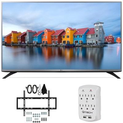 49LF5400 - 49-inch Full HD 1080p LED HDTV Flat Wall Mount Bundle