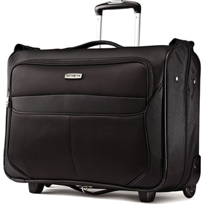 LIFTwo Carry On Wheeled Garment Bag - Black