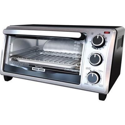 BD Cabinet 4Slice Toaster Oven
