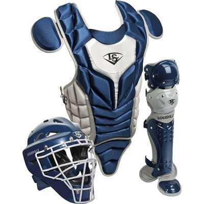 Youth PG Series 5 Catchers Set - Navy/Gray