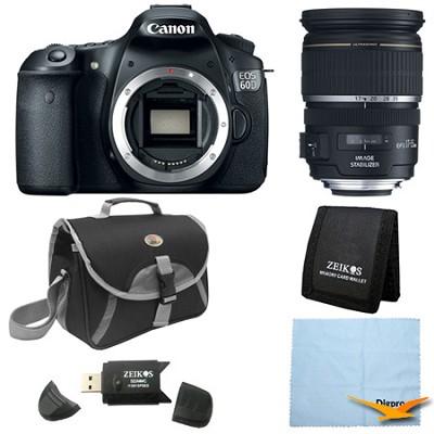 EOS 60D 18 Megapixel SLR Digital Camera w/ Canon 17-55mm Lens