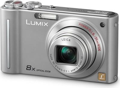 DMC-ZR1S LUMIX 12.1 MP 8x Zoom Digital Camera (Silver)(OPEN BOX)