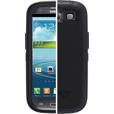 OB Samsung Galaxy S3 Defender - Black