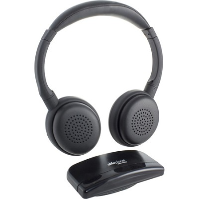 IR349TM Personal Sound Infrared Headphones for Televisions - Black