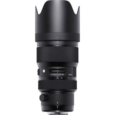 50-100mm f/1.8DC HSM ART Lens for Nikon SLR Mount