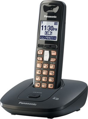 KX-TG6411T DECT 6.0 Expandable Digital Cordless Phone System