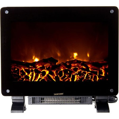 DSF-10302 Dallas Floor Standing Electric Fireplace - Black