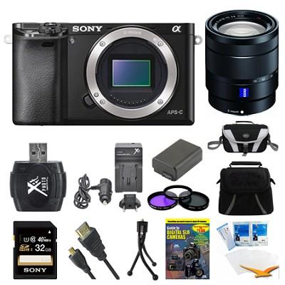 Alpha a6000 Black Interchangeable Lens Camera Body and 16-70mm Lens Bundle