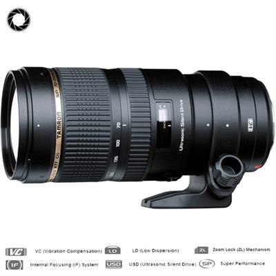 SP 70-200mm F/2.8 DI VC USD Telephoto Zoom Lens F/Canon EOS-Certified Refurbishe