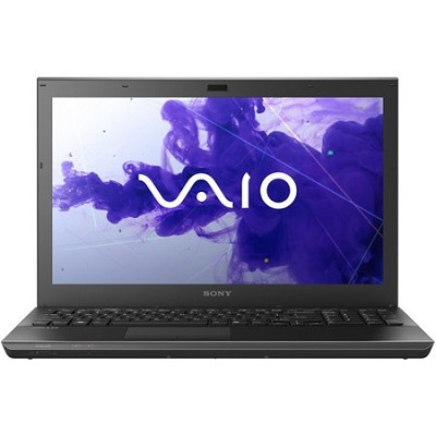 VAIO VPCSE23FX/B 15.5` Notebook PC -  Intel Core i5-2450M Processor