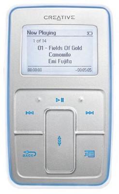 Zen Micro {Silver} 5gb MP3 Player