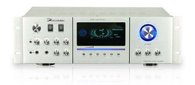 2000- Watt Power Amplifier (Silver)