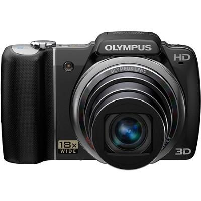 SZ-10 Black 14MP 3.0 LCD Super-Slim 28mm Wide-Angle 18x Opt Zoom Digital Camera