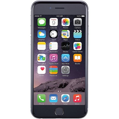 Refurbished iPhone 6 Plus 16GB Factory Unlocked GSM 4G LTE Smartphone Space Gray