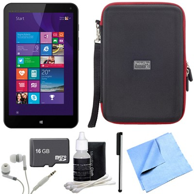 Stream 8 32GB Windows 8.1 LTE Tablet w/ One Year Office 365 Personal 16GB Bundle