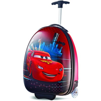 18` Upright Kids Disney Themed Hardside Suitcase - Cars