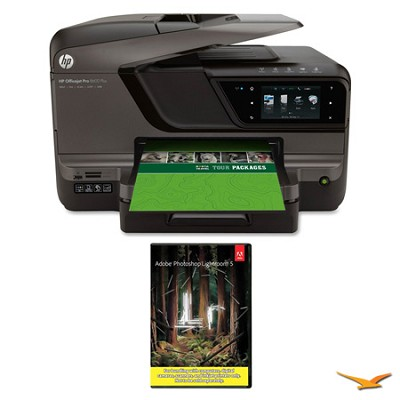 Officejet Pro 8600 Plus e-All-in-One Wireless Color Printer w/ Photoshop Light 5