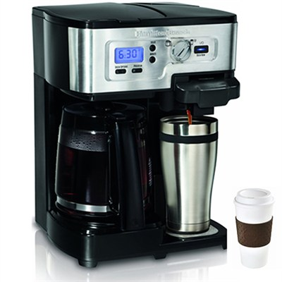 2-Way FlexBrew 12-Cup Coffeemaker + Copco To Go Cup Bundle