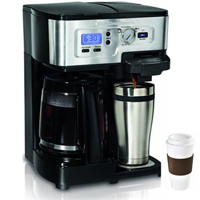 2-Way FlexBrew 12-Cup Coffeemaker + Copco To Go Cup Bundle
