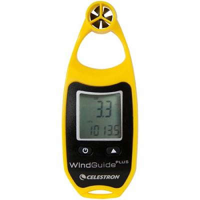 WindGuide Plus Anemometer - Yellow