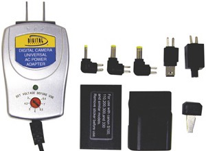 Universal AC Adapter for Digital Cameras