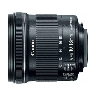 EF-S 10-18mm F4.5-5.6 IS STM Lens