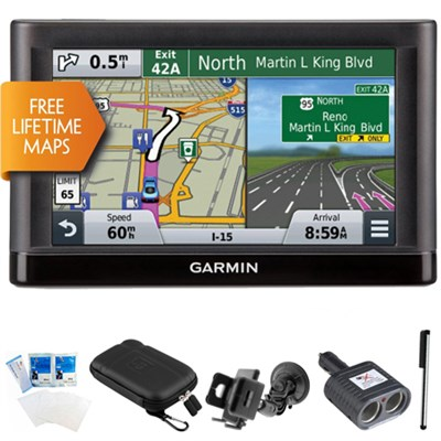nuvi 56LM Essential Series GPS Nav w/ Lifetime Maps 5` Display Ultimate Bundle