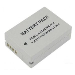 NB-10L Replacement Battery For PowerShot SX40,SX50 HS and PowerShot G1X