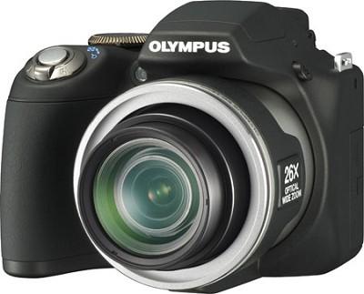 SP-590 Ultra-Zoom 12MP 2.7` LCD Digital Camera (Black)