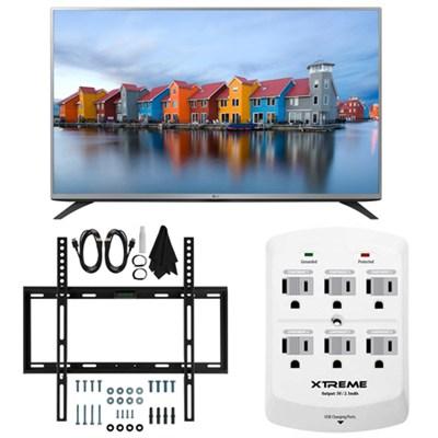 43LF5400 - 43-inch Full HD 1080p LED HDTV Slim Flat Wall Mount Bundle