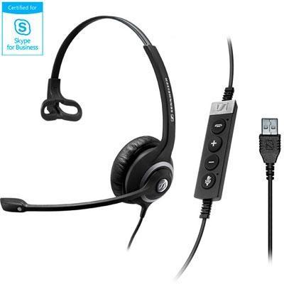 USB Professional Wired Single-Sided Communication Headset - 506482